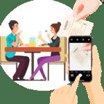 Essenszuschuss mit billyard App