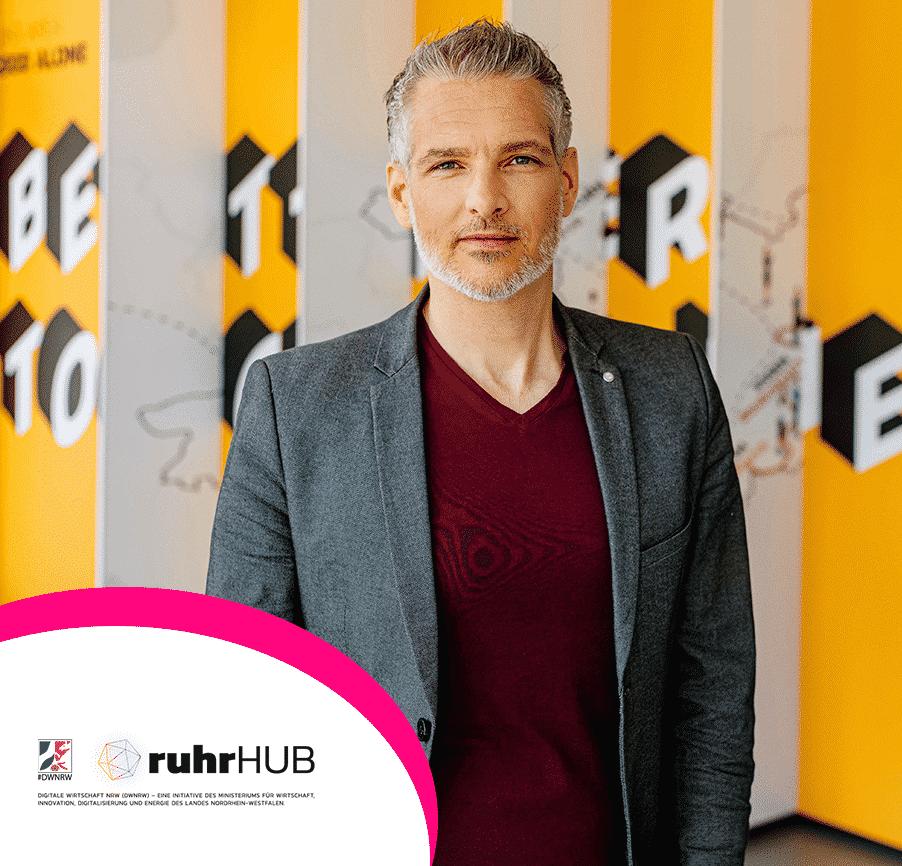 Oliver Weimann Geschäftsführer Ruhrhub
